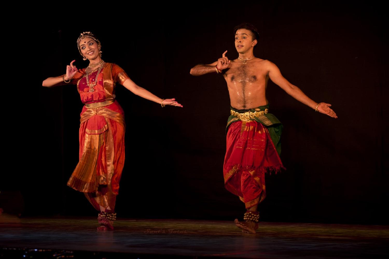 Viraja and Shyamjith Kiran Bharatanatyam Dance